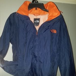 The north face hooded windbreaker jacket  size s